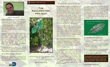 Reclamation Project 2 - Deering Estate at Cutler