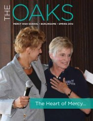 The Heart of Mercy... - Mercy High School