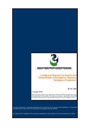 La Integración Regional y los Desafíos de la Competitividad ... - CEFIR