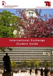 International Exchange Student Guide - Akademisches Auslandsamt ...