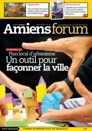 Un outil pour façonner la ville - Amiens