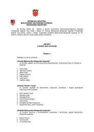 Odluka o dodjeli javnih priznanja 2008 - Bjelovarsko-bilogorska ...