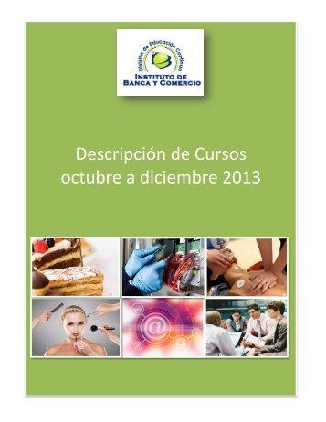 Artes Culinarias - Instituto de Banca y Comercio