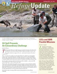 Refuge Update - U.S. Fish and Wildlife Service