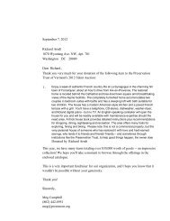 Silent Auction Thank You Letters.pdf - The Preservation Trust of ...