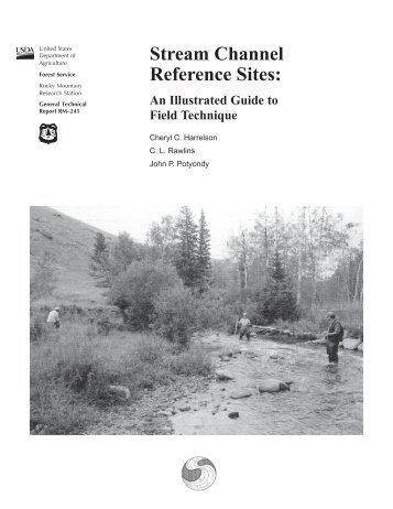 Stream channel reference sites and illustrated guide to field technique