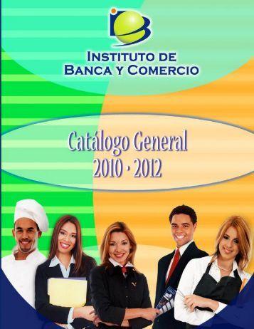 cata espa revision 06252010 [todo] - Instituto de Banca y Comercio