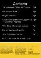 National Emergency Magazine Volume 8 2015 - Page 3