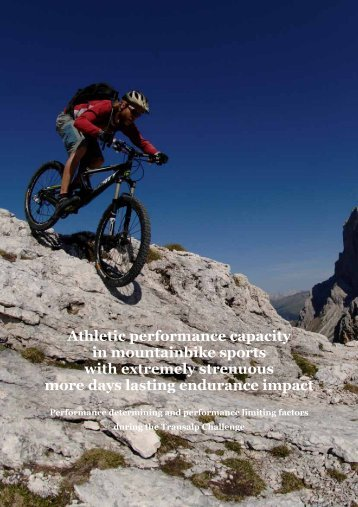 Athletic performance capacity in mountainbike ... - bikeeXtreme.org
