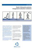 Static & dynamic posture: integrated evaluation solutions - Bts.it - Page 2