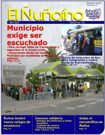 05. 2007 - Municipalidad de Ñuñoa