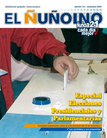 12. 2009 - Municipalidad de Ñuñoa