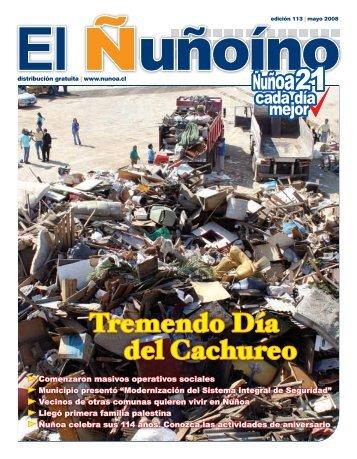 05. 2008 - Municipalidad de Ñuñoa