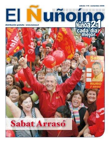 Sabat Arrasó - Municipalidad de Ñuñoa