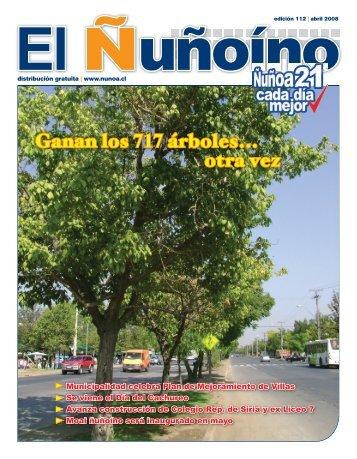 04. 2008 - Municipalidad de Ñuñoa