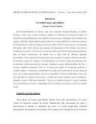 FRANCIA Un caballo negro apocalíptico - Ecotropicos - ULA