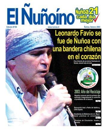 Leonardo Favio se fue de Ñuñoa con una bandera chilena en el ...