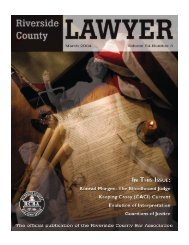 March 2004 - Riverside County Bar Association