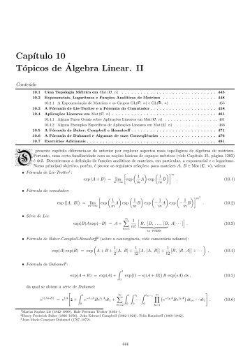 10 - Curso de Física-Matemática