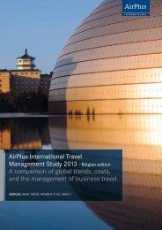 AirPlus International Travel Management Study 2013 ... - BBT Online
