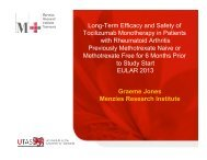 eular 2013 tcz monotherapy talk[5]. - Projects In Knowledge