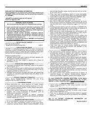 sitagliptin/metformin - Projects In Knowledge, Inc.