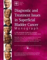 Diagnostic and Treatment Issues in Superficial Bladder Cancer