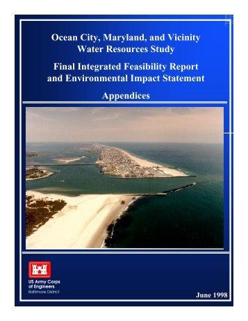 Final Appendicies Part 1 - The Coastal Bays Program