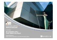 Presentazione Lugano Small & Mid Cap Investor Day - Banca Etruria