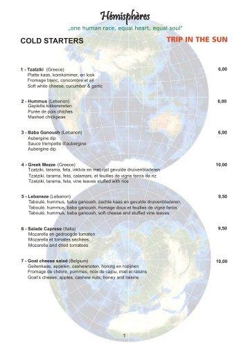 Télécharger la carte FR EN NL au format .PDF - Hemispheres-resto.be