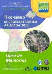 Memorias - Facultad de Ingeniería - Universidad Nacional de La Plata