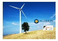 Wind: Operating plants - VedoGreen