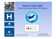 Servizi Italia SpA - IR Top