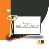 INVESTOR RELATIONS - IR Top