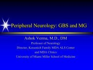 Peripheral Neurology: GBS & MG