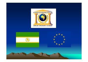 ADA PowerPoint-Präsentation - Akademie der Diplomatie Afrikas