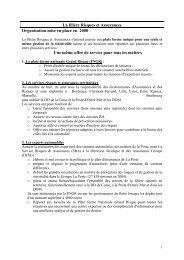 La filière Risques et Assurances s - Netactif.com