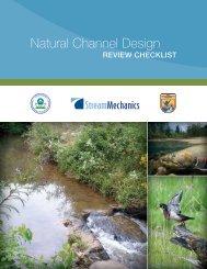 Natural Channel Design - Stream Mechanics