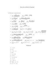 Esercizi sui limiti di funzioni • Calcolare i seguenti limiti: 1. lim arctg2 ...