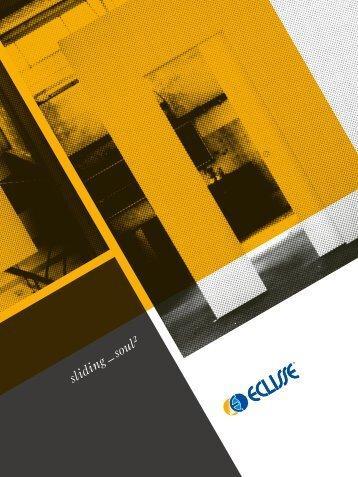 Eclisse Sürme Kapı Sistemleri Katalog Sliding Soul