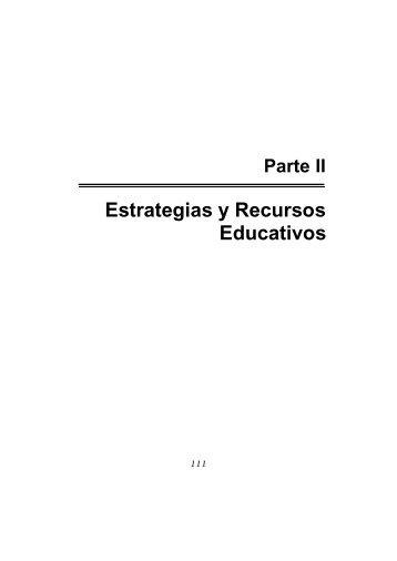 Estrategias y Recursos Educativos - Escuela Técnica Superior de ...