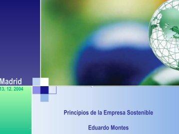 Principios de la Empresa Sostenible