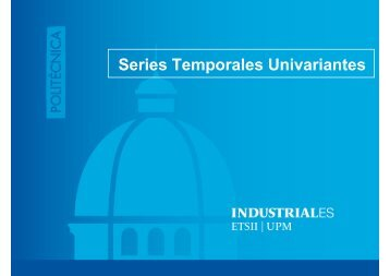 Series Temporales Univariantes