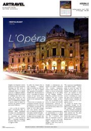Artravel International - L'Opera Restaurant