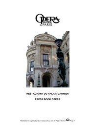 OperaParis_PressBook.. - L'Opera Restaurant