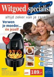 Witgoed Specialist folder 20 april t/m 3 mei 2015