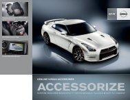 Nissan GT-R | Accessories Brochure | Nissan USA