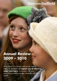 Annual Review for 2009 - Museums Sheffield