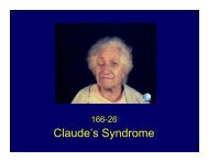 Claude's Syndrome