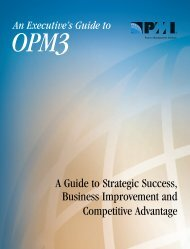 Download the OPM3® Knowledge Foundation - Project ...